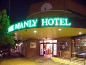 Manly Hotel The - Geraldton Accommodation