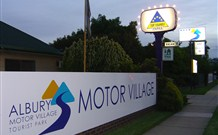 Albury Motor Village - Geraldton Accommodation