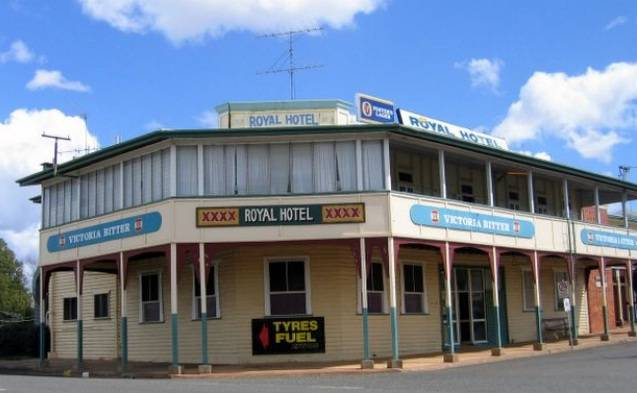 Royal Hotel Mundubbera - Geraldton Accommodation