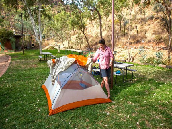 Standley Chasm Angkerle Camping - Geraldton Accommodation