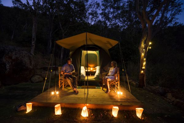 Keswick Island Camping and Glamping - Geraldton Accommodation