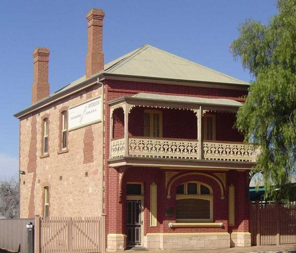 Savings Bank of South Australia - Old Quorn Branch - Geraldton Accommodation