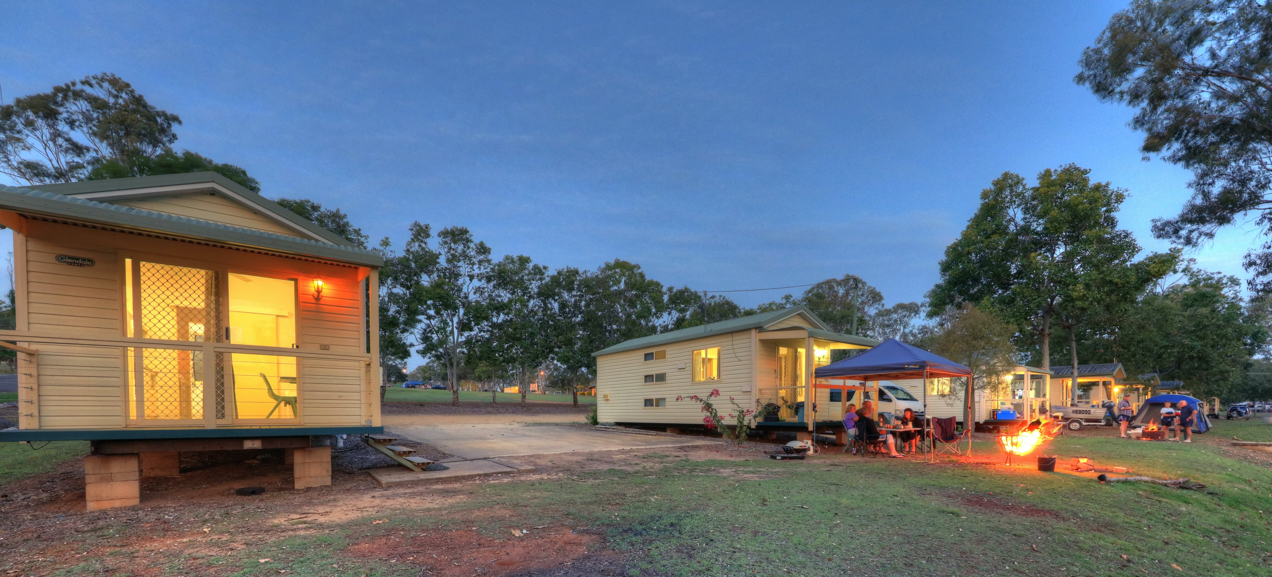 Yallakool Caravan Park on BP Dam - Geraldton Accommodation