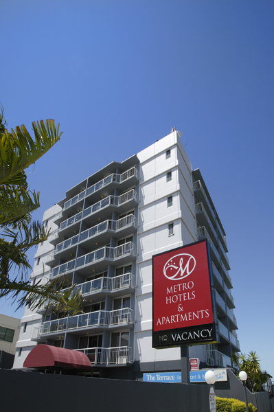 Metro Hotel  Apartments Gladstone - Geraldton Accommodation