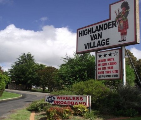 Highlander Van Village - Geraldton Accommodation
