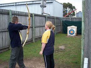 Bairnsdale Archery Mini Golf  Games Park - Geraldton Accommodation