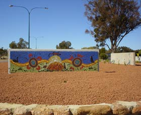 Council Office Mosaic - Geraldton Accommodation