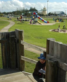 Yoganup Playground - Geraldton Accommodation