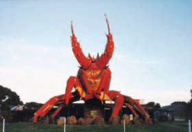 The Big Lobster - Geraldton Accommodation