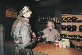 Indoor Skirmish - Paintball Sports - Geraldton Accommodation