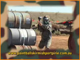 Paint Ball Skirmish Port Pirie - Geraldton Accommodation