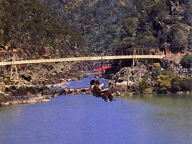 Launceston Cataract Gorge  Gorge Scenic Chairlift - Geraldton Accommodation