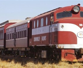 Old Ghan Heritage Railway and Museum - Geraldton Accommodation