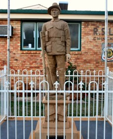 Soldier Statue Memorial Chinchilla - Geraldton Accommodation