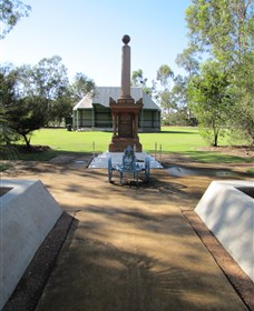 Mitchell War Memorial - Geraldton Accommodation