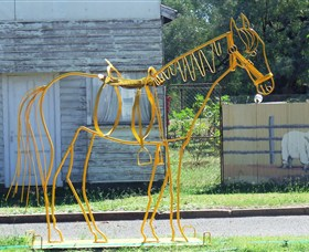 Augathella Wrought Iron Sculptures