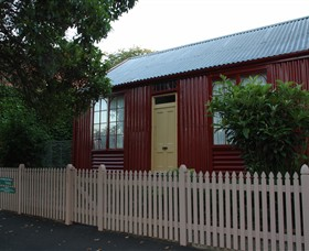 19th Century Portable Iron Houses - Geraldton Accommodation