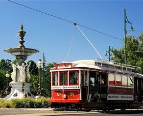Bendigo Tramways Vintage Talking Tram Tour - Geraldton Accommodation
