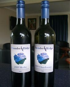 Thunder Ridge Wines - Geraldton Accommodation