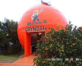 Gayndahs Big Orange - Geraldton Accommodation
