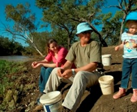 Charleville - Bakers Bend Warrego River Fishing Spot - Geraldton Accommodation