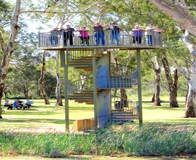 Darling and Murray River Junction and Viewing Tower - Geraldton Accommodation