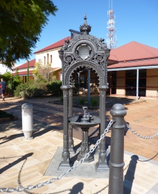 Witcombe Fountain - Geraldton Accommodation
