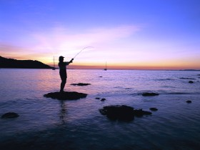 Fishing at Magnetic Island