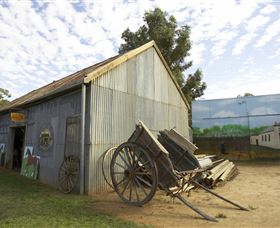 The Ned Kelly Blacksmith Shop - Geraldton Accommodation