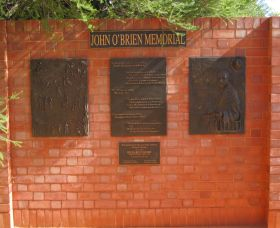 John OBrien Commemorative Wall - Geraldton Accommodation