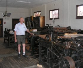 Henty Observer Printing Museum - Geraldton Accommodation