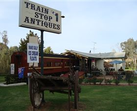Train Stop Antiques - Geraldton Accommodation