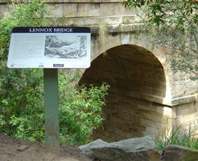 Lennox Bridge in The Blue Mountains