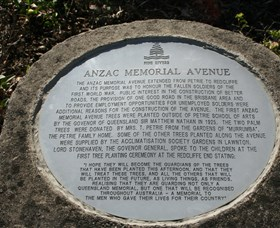 Anzac Memorial Avenue Redcliffe - Geraldton Accommodation