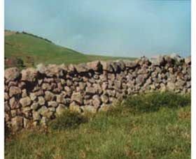 Historic Dry Stone Walls - Geraldton Accommodation