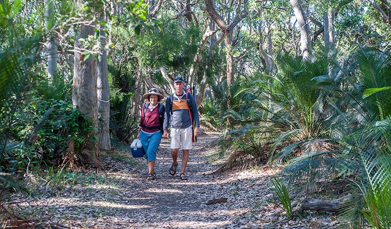Myrtle Beach walking track - Geraldton Accommodation