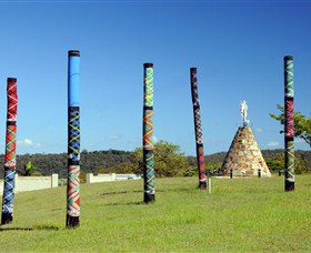 Maclean Tartan Power Poles - Geraldton Accommodation