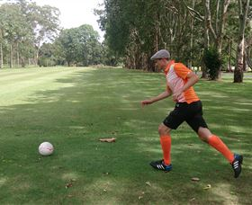 FootGolf at Teven Valley Golf Course - Geraldton Accommodation