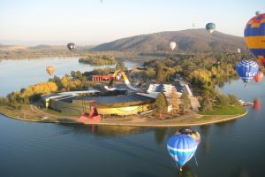 Canberra Hot Air Balloon Flight at Sunrise - Geraldton Accommodation