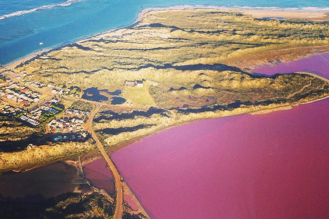 70-minute Pink Lake and Port Gregory Scenic Flight From Geraldton - Geraldton Accommodation