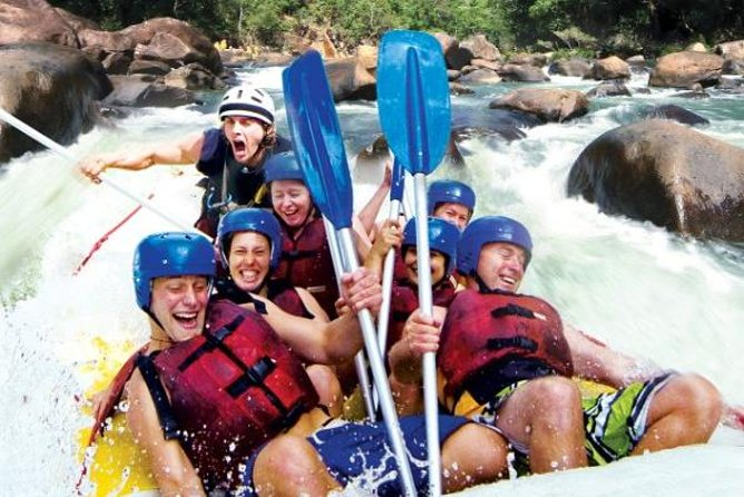 Tully River Full-Day White Water Rafting from Cairns including Lunch - Geraldton Accommodation
