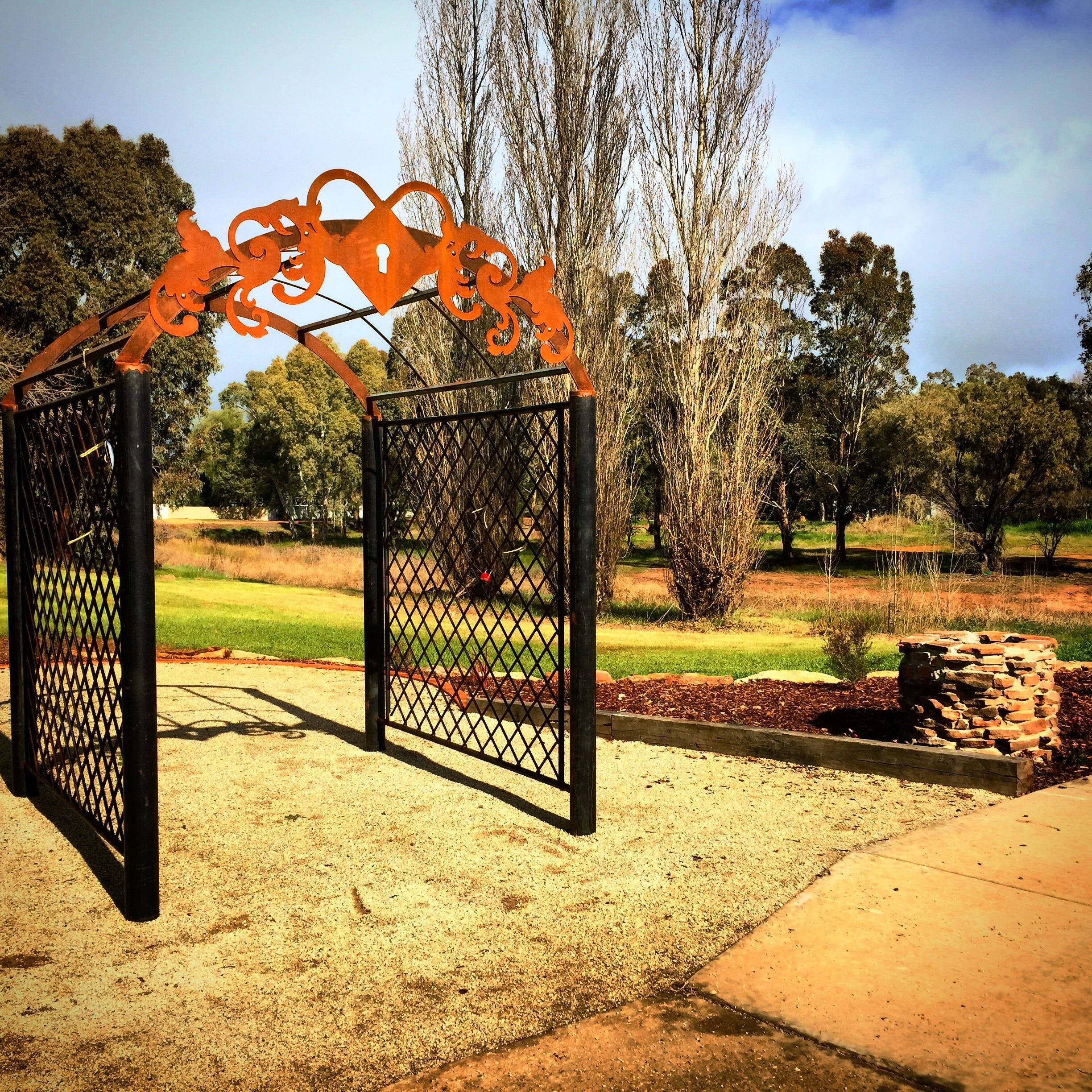 Lockhart Love Locks - Geraldton Accommodation