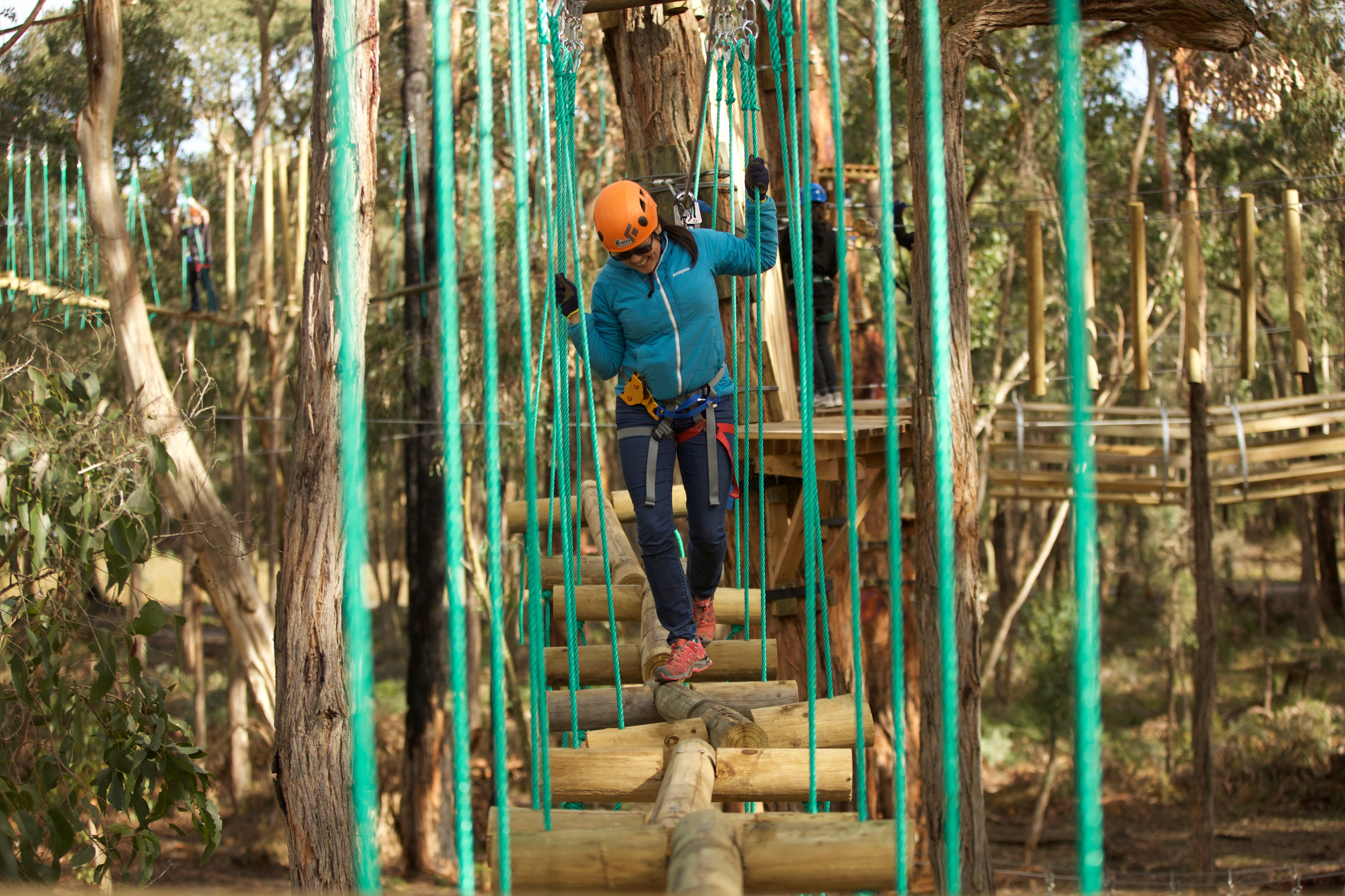 Trees Adventure Yeodene Park - Geraldton Accommodation