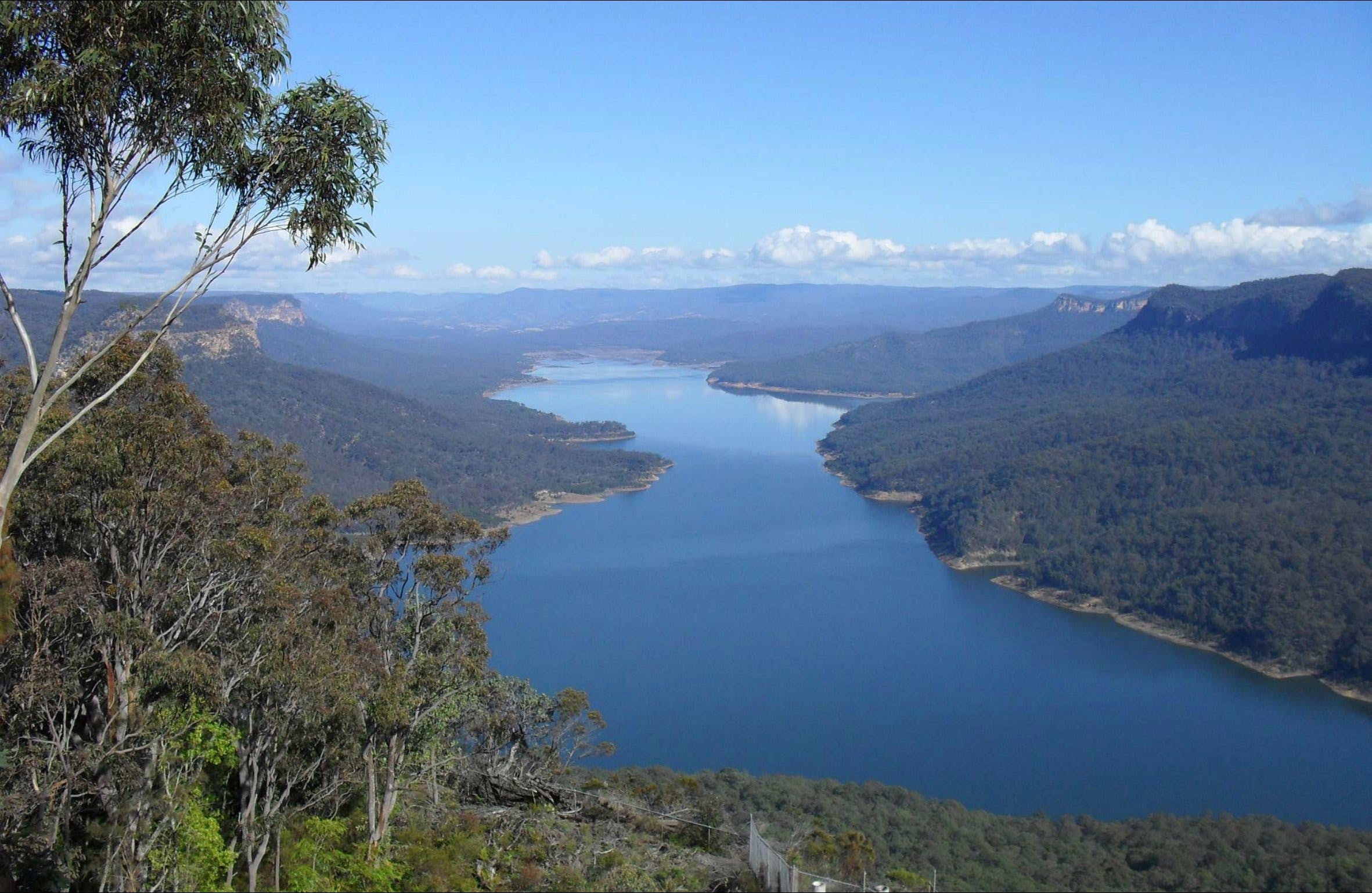 Burragorang lookout and picnic area - Geraldton Accommodation