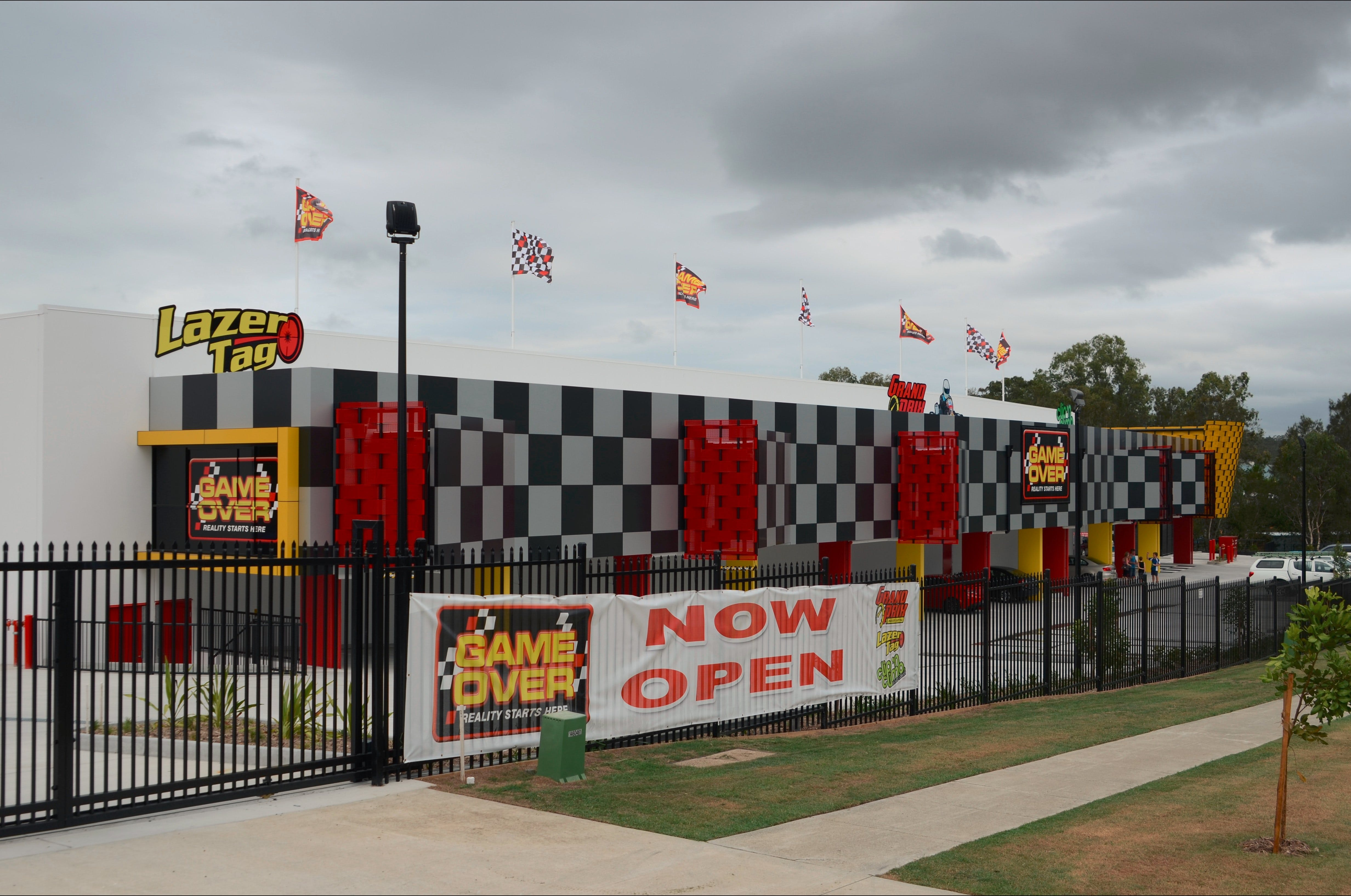 Game Over Indoor Go Karting Adventure Climbing Walls and Lazer Tag Centre - Geraldton Accommodation