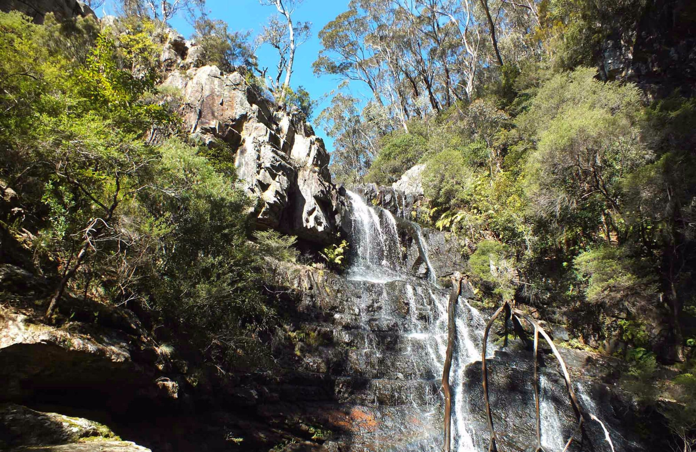 Waterfall Walk Kanangra-Boyd National Park - Geraldton Accommodation