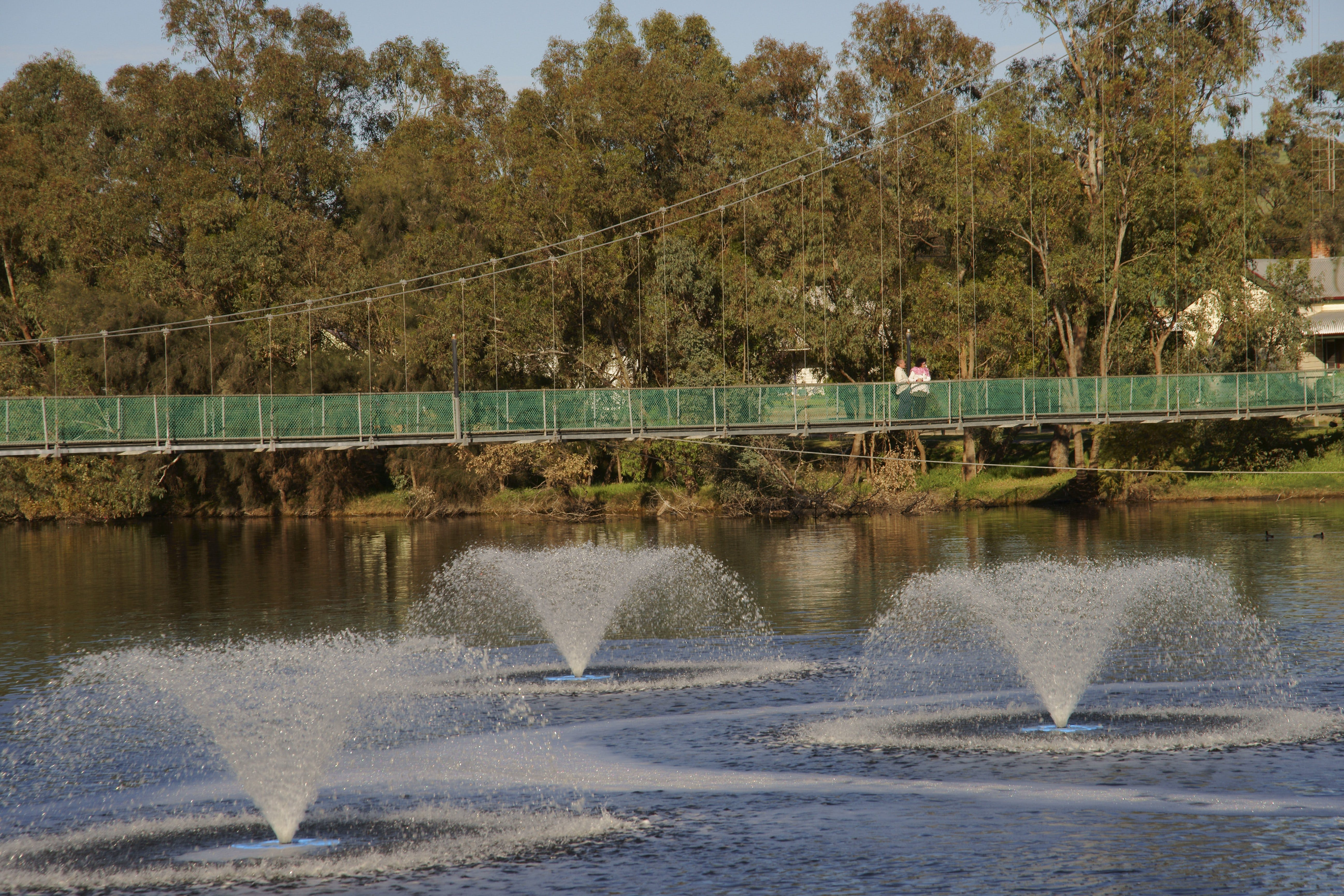 Suspension Bridge - Geraldton Accommodation