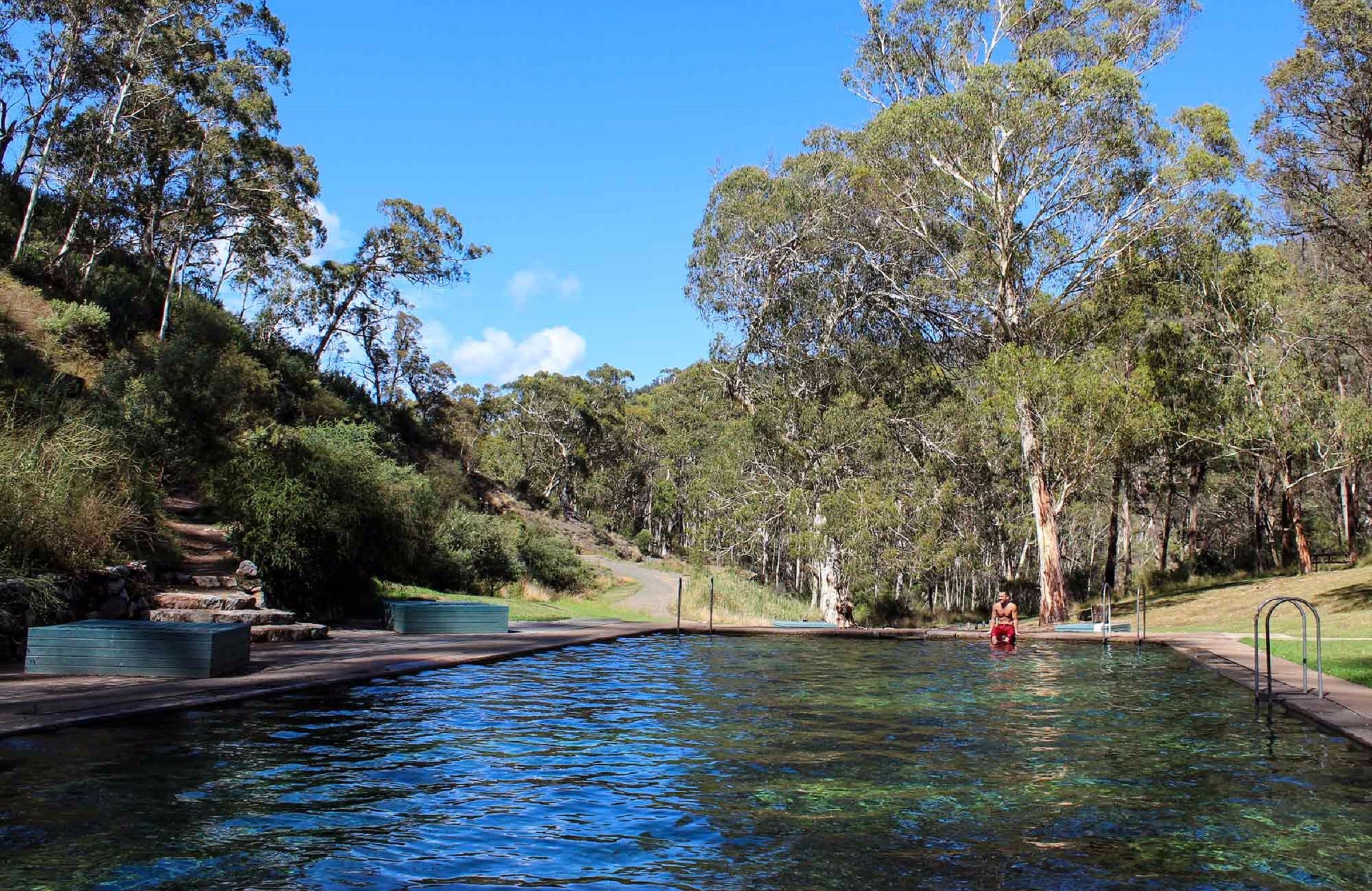 Yarrangobilly Caves Thermal Pool Walk - Geraldton Accommodation