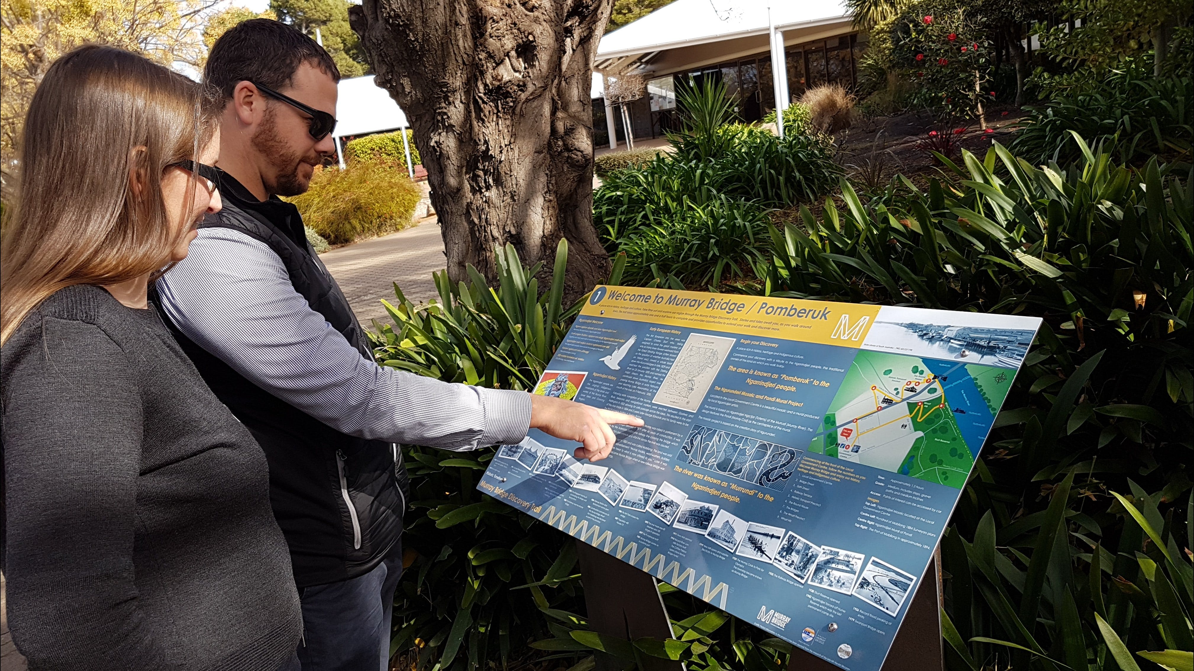 The Murray Bridge Discovery Trail - Geraldton Accommodation