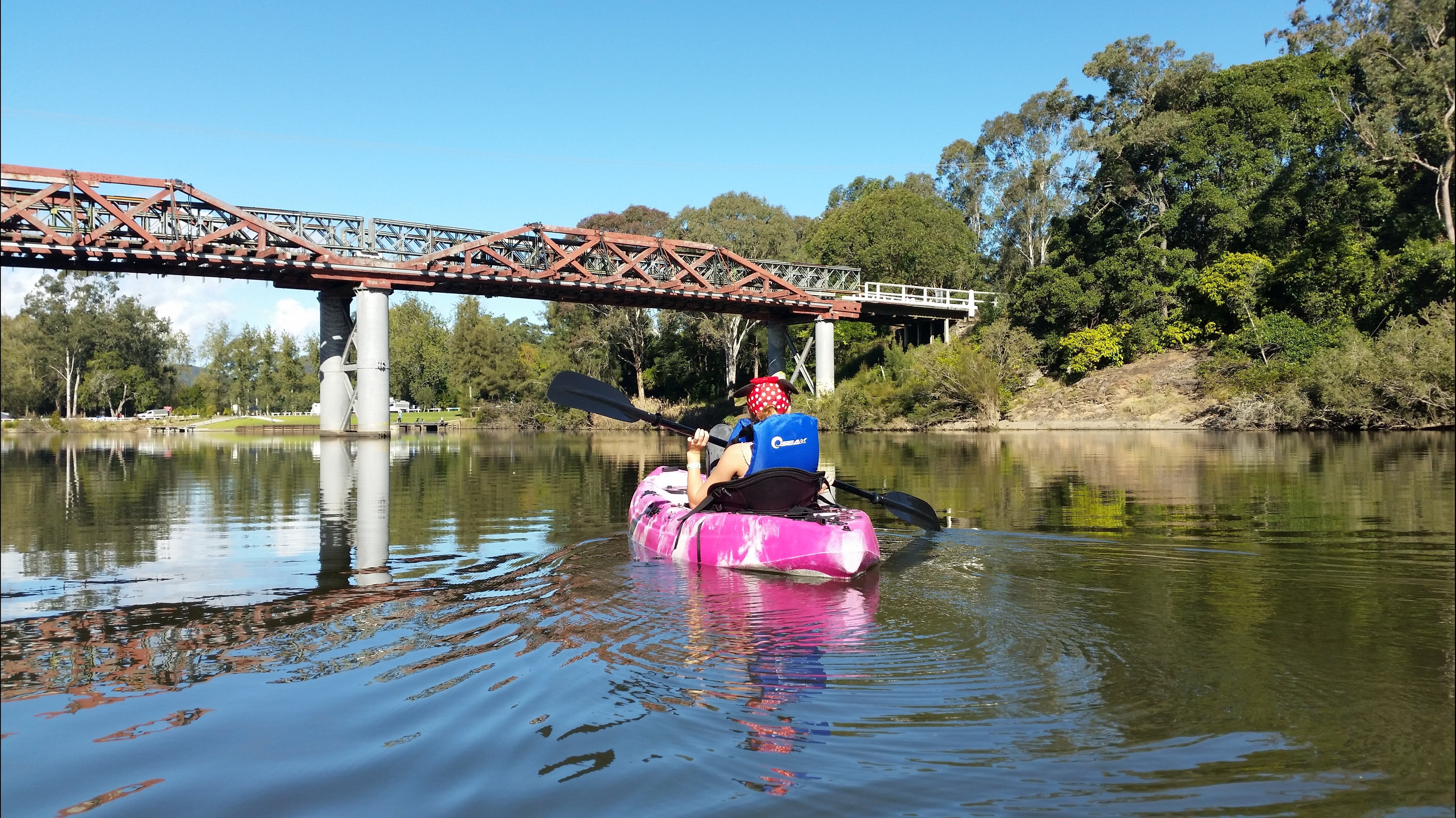 Canoeing at Clarence Town - Geraldton Accommodation